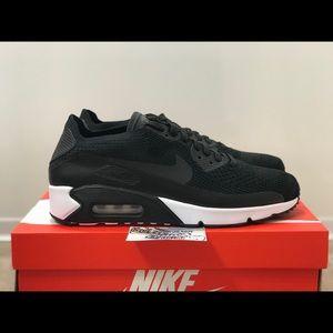 NEW Nike Air Max 90 Ultra 2.0 Flyknit Black 97 95